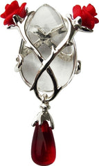 Rose & Thorn for Perfect Love & Partnership Necklace Anne Stokes