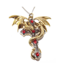 Crux Dragana Necklace for Confidence and Strong Protection by Anne Stokes