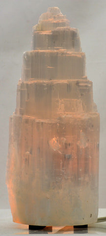 Selenite Lamp 10 inch