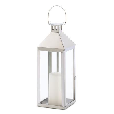 "Simply Stated Candle Lantern 18 1/2"" Tall"