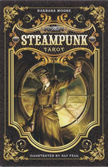 Steampunk Tarot Deck & Book by Barbara Moore