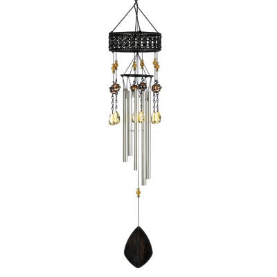 Topaz Sunset Wind Chime