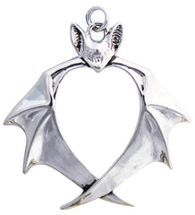 Veritas for Truth Bat Necklace by Anne Stokes