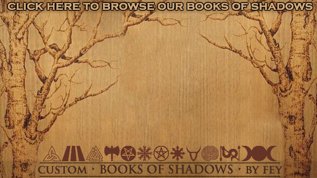 Handmade Book Shadows