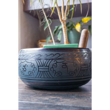 "Load image into Gallery viewer, Singing Bowl 9.5"" Blue 