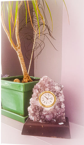 Amethyst Geode Clock | Star Soul Metaphysics