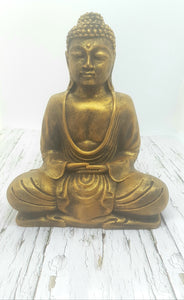 Meditating Buddha 9"