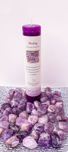 "Herbal Magic Pillar Candles 7"" - Healing - Star Soul Metaphysics Caffe"