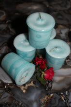 "Load image into Gallery viewer, Votive Herbal Candles 1.75"" x 2"" -  Star Soul Metaphysics Caffe"