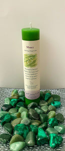 "Herbal Magic Pillar Candles 7"" - Money - Star Soul Metaphysics Caffe"