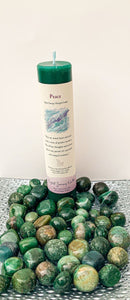 "Herbal Magic Pillar Candles 7"" - Peace - Star Soul Metaphysics Caffe"