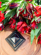 Load image into Gallery viewer, Shungite Sakkara Pyramid | Star Soul Metaphysics