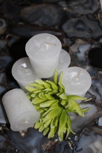 "Votive Herbal Candles 1.75"" x 2"" -  Star Soul Metaphysics Caffe"