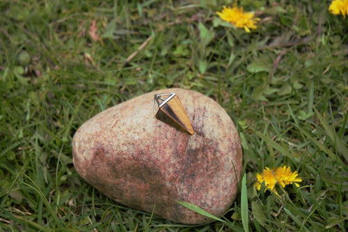 Tiger's Eye Pendant | Star Soul Metaphysics