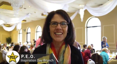 VIDEO: Loved being part of the PEO Inspiration Brunch and sharing positive thoughts!