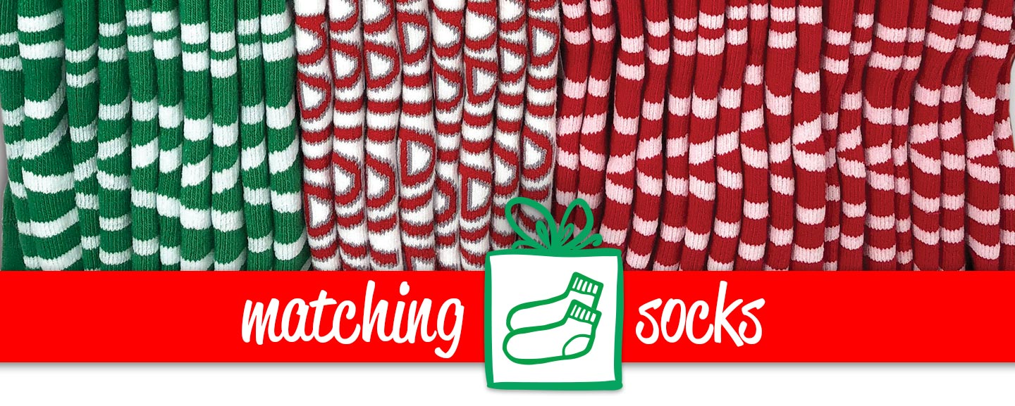 matching socks holiday offer