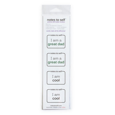 i am a great dad i am cool sticker for dads
