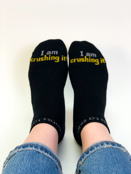'I am crushing it' socks - created for Gary Vaynerchuk