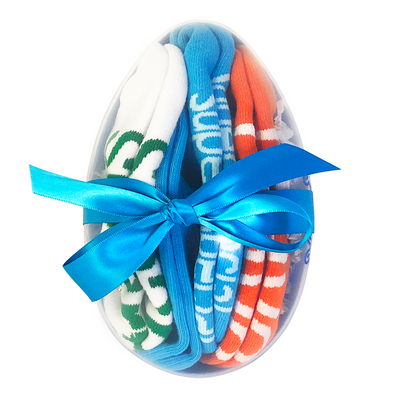 eggs-tra special you i am smart special brave sock gift set