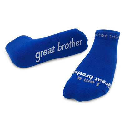 i am a great brother socks for men