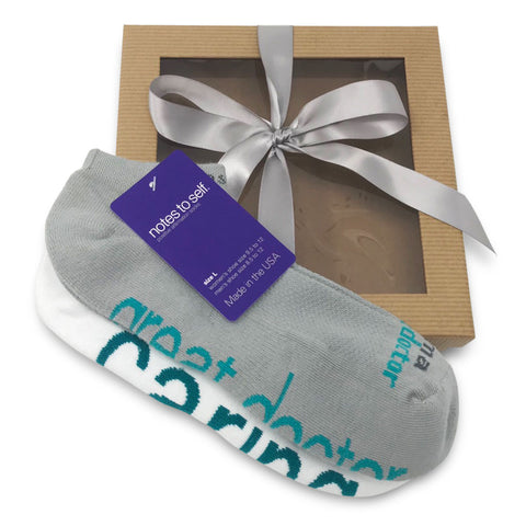 sock gift set i am a great doctor socks i am caring socks in gift box