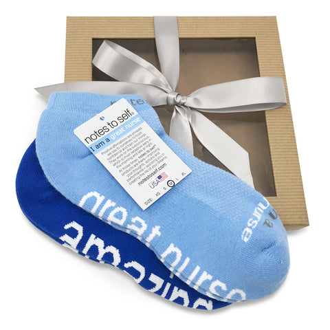 gift for nurses i am a great nurse socks i am amazing socks in gift box