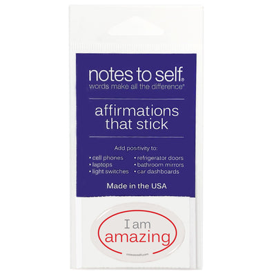 i am amazing puffy sticker affirmations that stick