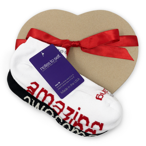i am amazing i am awesome sock gift set