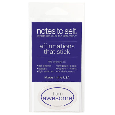 i am awesome puffy sticker affirmations that stick