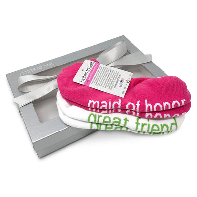 i am beautiful maid of honor socks i am a great friend socks in gift box
