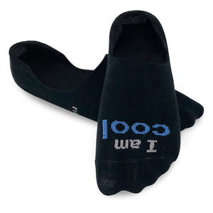 i am cool black ultra low cut socks