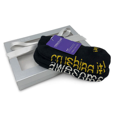 sock gift set i am awesome socks i am crushing it socks in gift box