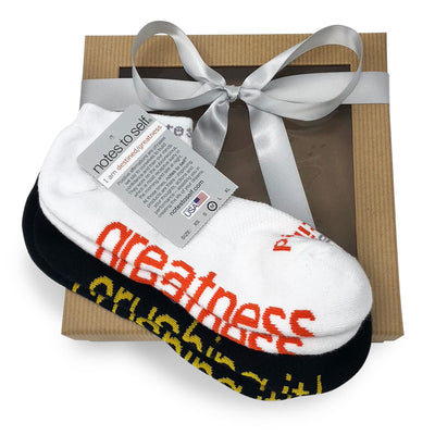 sock gift set i am crushing it socks i am destined greatness socks in gift box
