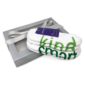 sock gift set i am kind socks i am smart socks in silver gift box