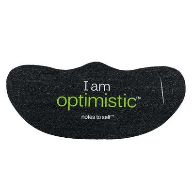 i am optimistic fashion face cover lightweight