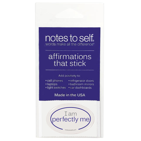 i am perfectly me puffy sticker affirmations that stick