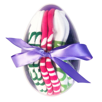 eggs-tremely wonderful you i am smart i am strong i am kind sock gift set