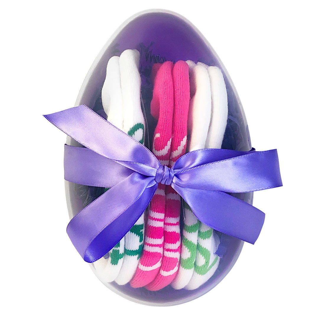 eggs-tremely wonderful you i am smart i am strong i am kind sock gift set small sizes