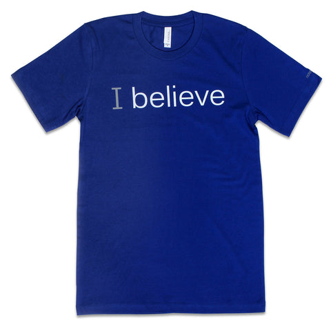 i believe tshirt with positive message