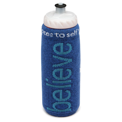 i believe water bottle cover with inspirational message