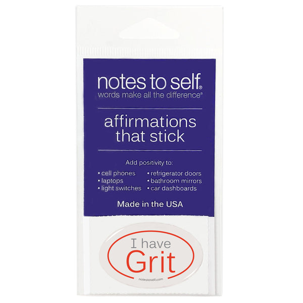 i have grit puffy sticker affirmations that stick