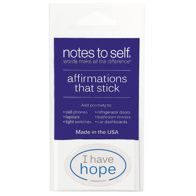 i have hope puffy sticker affirmations that stick