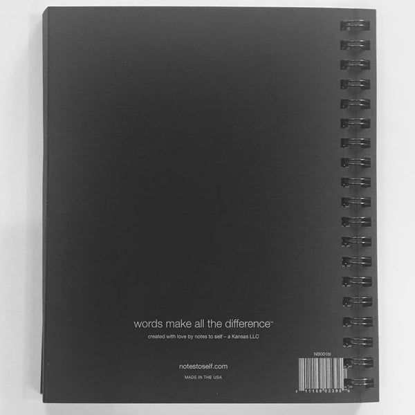 CONFIDENCE notebook - words make all the difference®