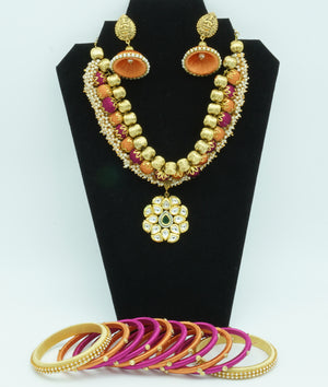 Hippie Pink Silk Thread  Jewelry