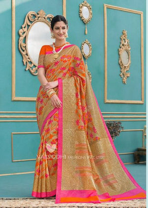 Yuma Tussar Silk  with Blouse