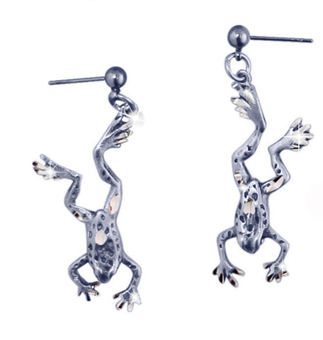 Frog Dragon Earrings