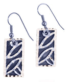Rectangle Design Earrings