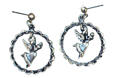 Angel Hoops Earrings
