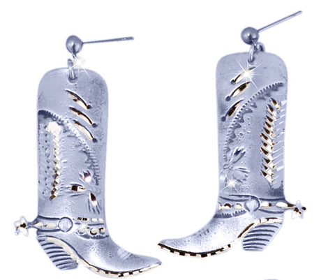 Large Boot Earrings