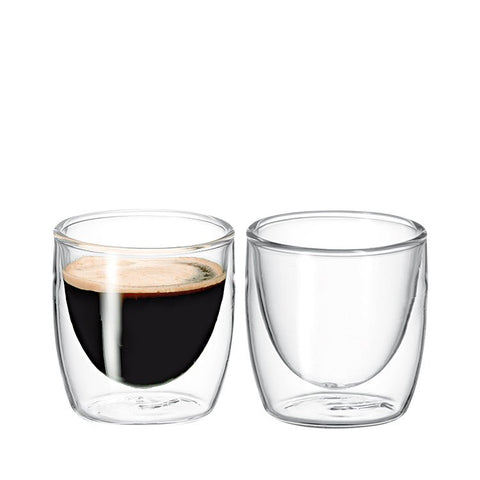 Avanti - Twin Wall Glasses (100ml) 2 Pack